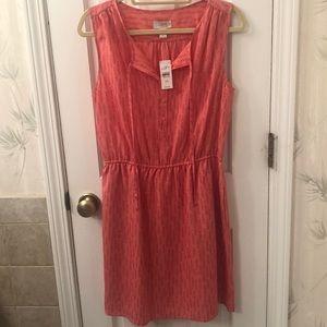 NWT Loft print dress size M